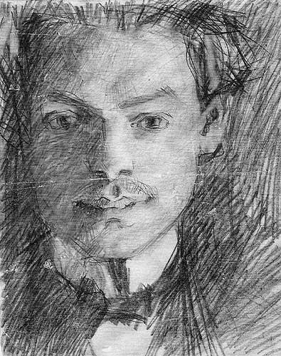 Václav Rejchl malířem Bohumilem Kubištou